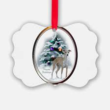 greyhound ornament cafepress