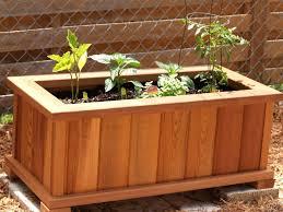 planter box garden bench bench decoration