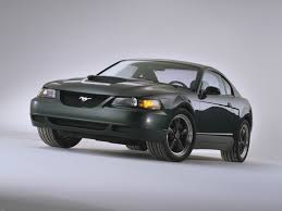 2000 Ford Mustang Black 4th Generation