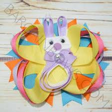 boutique bows blooming orchid bunny boutique bow bargain bows