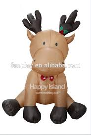 Christmas Deer Decorations Indoor by Inflatable Reindeer Inflatable Reindeer Suppliers And