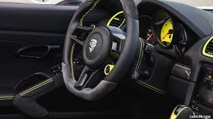 porsche boxster 2017 interior 2017 techart porsche 718 boxster interior steering wheel hd
