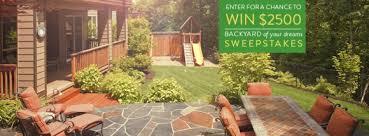 Backyard Makeover Sweepstakes by Garden Design Garden Design With Canadian Chicken Farmers â Win