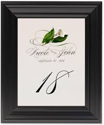 Wedding Table Cards Leaves Flowers Fruit And Grapes Wedding Table Numbers Table