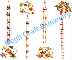 handmade door and wall hanging indian handmade door hanging toran valance gate indian traditional door hanging hand painted wooden door hanging elephant toran home decorative wall hanging accessories for wholesale
