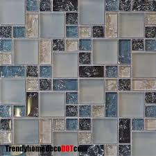 glass bathroom tile ideas 60 best blue tile images on bathroom ideas glass