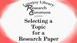 interesting topics to write a research paper on selecting a topic for a research paper youtube selecting a topic for a research paper