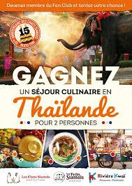 jeu concours cuisine concours resto thaï