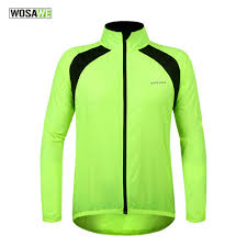 fluorescent waterproof cycling jacket online get cheap mens summer long raincoat aliexpress com