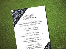 Buffet Menu For Wedding by Looking For Menu Card Inspiration Weddingbee