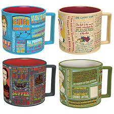 coffee mugs famous authors and literature coffee mugs