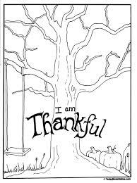 Thankful Tree Craft For Kids - lds activity day ideas thanksgiving tree activity day