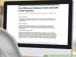 How To Get Free Credit Score Without Signing Up by 3 Ways To Check Someone U0027s Credit Scores Wikihow