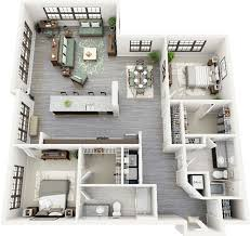 Studio And 1 Bedroom Apartments by Best 25 2 Bedroom Apartments Ideas On Pinterest Two Bedroom