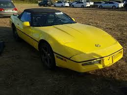 1976 corvette yellow salvage chevrolet corvette for sale at copart auto auction