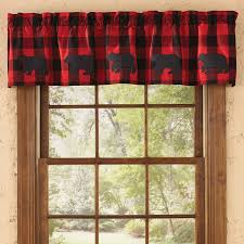 Curtains For A Cabin Rustic Curtains Cabin Window Treatments Curtain Plaid Grommet