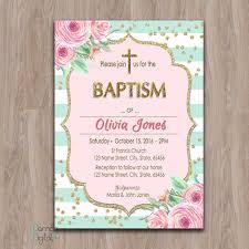 Blank Baptism Invitation Cards Baptism Invitation Printable Baptism Invitation