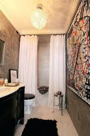 smlf dashing uptown home house tour double shower short shower curtain liner clawfoot tub bathroom decor short