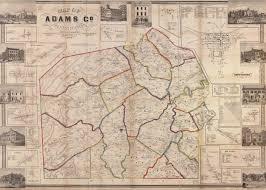 Gettysburg Map Gettysburg
