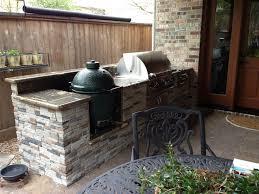 outdoor kitchen countertop ideas extraordinary outdoor countertop material in designing outdoor