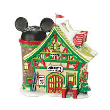 mickey u0027s christmas village