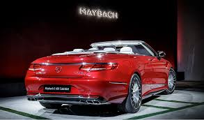maybach sports car mercedes maybach s 650 cabriolet