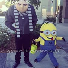 despicable me homemade halloween costumes
