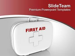 maintain a first aid kit for emergency powerpoint templates ppt