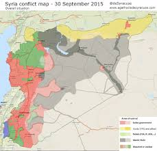 Beirut On Map Agathocle De Syracuse Syria Conflict Interactive Map 30 Sept 2015