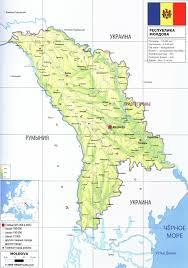 Moldova Map Moldova