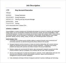 11 account executive job description templates u2013 free sample