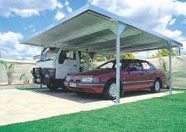 Absco Awning 5 5m X 5 5m Absco Skillion Zincalume Double Carport Australian