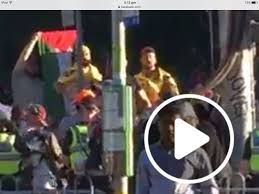 Hezbollah Flag Terrorist Hezbollah Flag Appears At Melbourne Rally Xyz