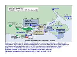 Southampton England Map by Petroleum Geology The Portland Isle Of Wight Basin