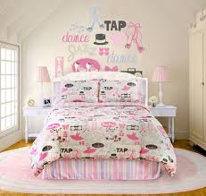 music themed queen comforter little dancer music themed bedding for teenage girls by veratex