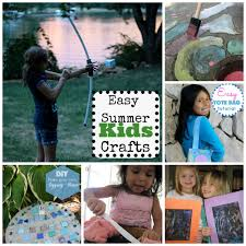 six easy summer crafts to spend a fun summer afternoon www