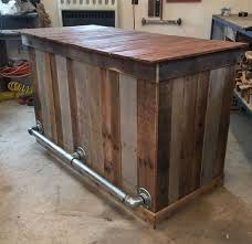 Building Outdoor Wood Table by Best 25 Outdoor Bars Ideas On Pinterest Patio Bar Diy Outdoor