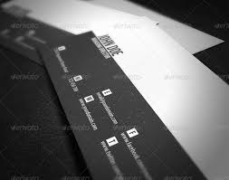 Minimal Business Card Designs Minimal Business Card By Glenngoh Graphicriver