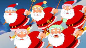 five santas five santas nursery rhymes tv nursery