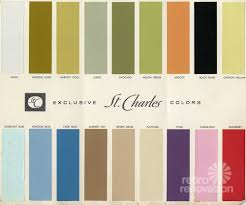 paint colors for metal kitchen cabinets 18 colors for 1960s st charles steel kitchen cabinets