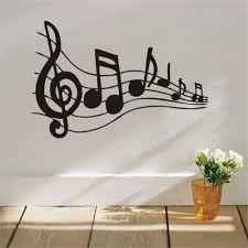 aliexpress com buy 2015 fashion music vinyl wall decal musical aliexpress com buy 2015 fashion music vinyl wall decal musical notes music mural art wall sticker music room class room living room home decoration from