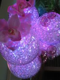 Water Beads Centerpieces This Led Light Centerpiece Tutorial Will Make Your Table Look