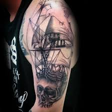 100 nautical tattoos for slick seafaring design ideas