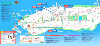 Chelsea Gallery Map Map Nyc Attractions Opt With Manhattan Sights World Maps