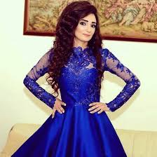 stylish dress stylish royal blue sleeve homecoming dress prom dress