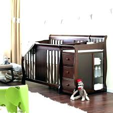 crib changing table combo baby crib with changing table ostrichapp com