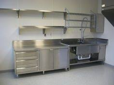 kitchen steel cabinets brick wall stainless steel kitchen cabinets pinteres