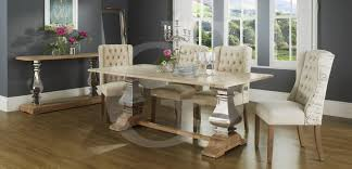 limed oak dining tables