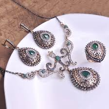 aliexpress vintage necklace images Buy perfecto turkey royal design jewelry sets jpg