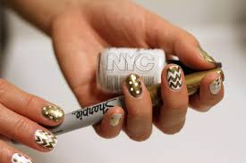 metallic sharpie nail art image collections nail art designs